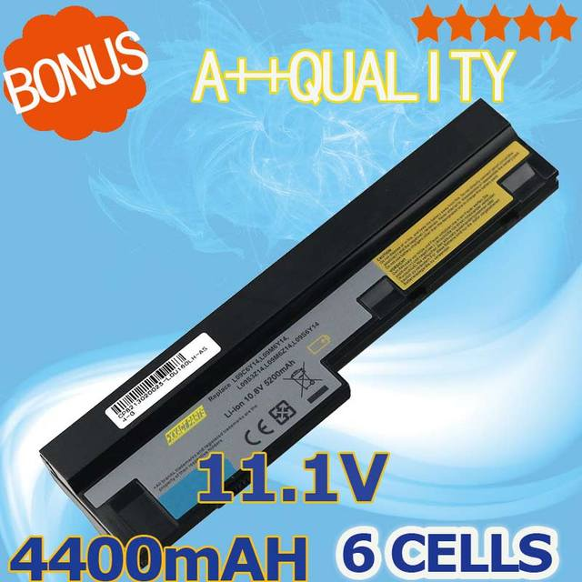 4400mAh 11.1v  laptop battery for Lenovo IdeaPad S100 S10-3 S205 S110 U160 S100c S205s U165 L09S6Y14 L09M6Y14 6 cells