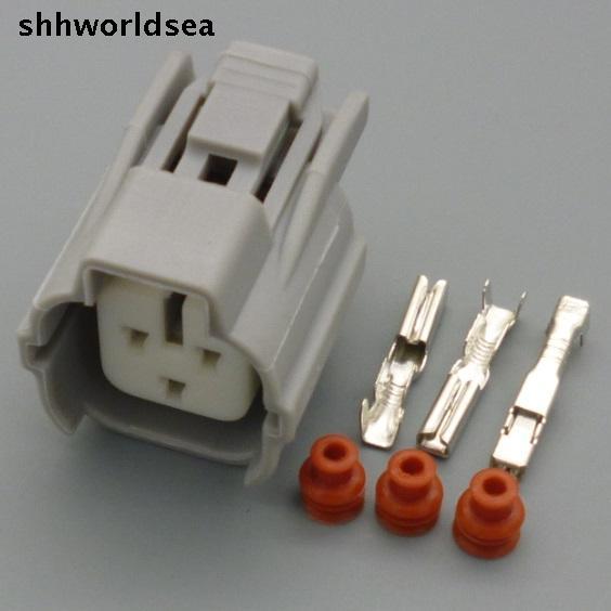 Shhworldsea 5/30/100 ensembles 3 P 2.0mm arbre À CAMES plug pour Toyota modifié plug Toyota moteur connecteur avec bornes