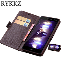 RYKKZ Case For Nokia 2.1 Luxury Wallet Genuine Leather Case Stand Flip Card Hold Phone Book Cover Bags For Nokia 2.1 3.1 Case