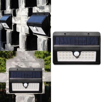 LED พลังงานแสงอาทิตย์ PIR Motion IP65 Sensor 8-10 h 6 h กลางแจ้ง 45LED 6 V/ 180mA สวนโคมไฟ