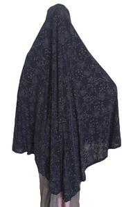 Image 5 - Donne Vestito di Preghiera Musulmana Sciarpa Lunga Khimar Hijab Islamico In Testa di Grandi Dimensioni Vestiti di Preghiera Abbigliamento Cappello Niquabs Stampato Amira Hijab