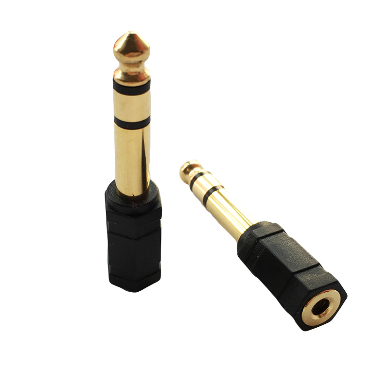 3 5mm Mini Jack Socket To 6 3mm Jack Plug Adapter 6 35