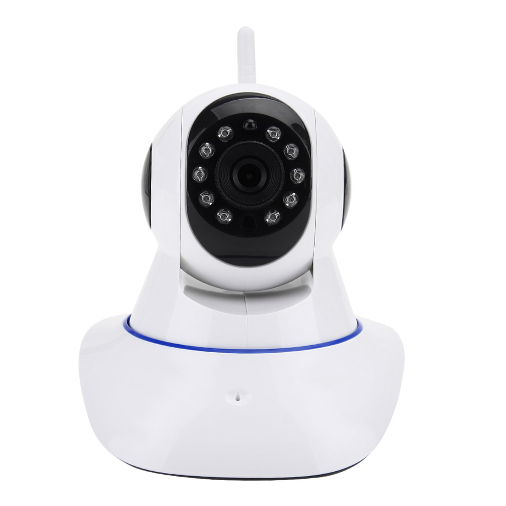 Smart WiFi CCTV IP Camera Wireless 720P HD P2P IR Night Vision Pan/Tilt Indoor Safety Surveillance Cam Video Audio Alarm AU Plug p2p 720p hd wireless wifi ip camera 720p pan tilt ir night vision network cctv ip cam support 64 gb tf card