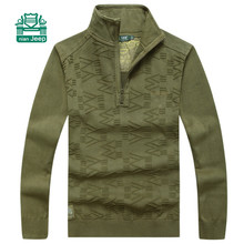 NianJeep Original Brand High Quality Patchwork Sweater,Autumn elasticity Thick Breathe Pullover Outwear,Winter Thick Warmly Coat