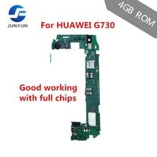 ジュン楽しい1 1gbのram 4ギガバイトrom huawei社G730 U00 3グラムサポートマザーボードロック解除メインボードemuiロジックボードフルチップ