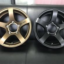 """Автомобильный Стайлинг, новые литые диски 16 дюймов, 5,"""" Ширина для Jimny Styling"""