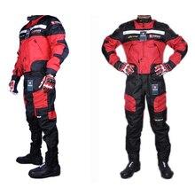 1 SATZ jacken & hosen qualität DUHAN sommer motorradjacke racing Oxford wasserdichte motocross anzug motorradjacke