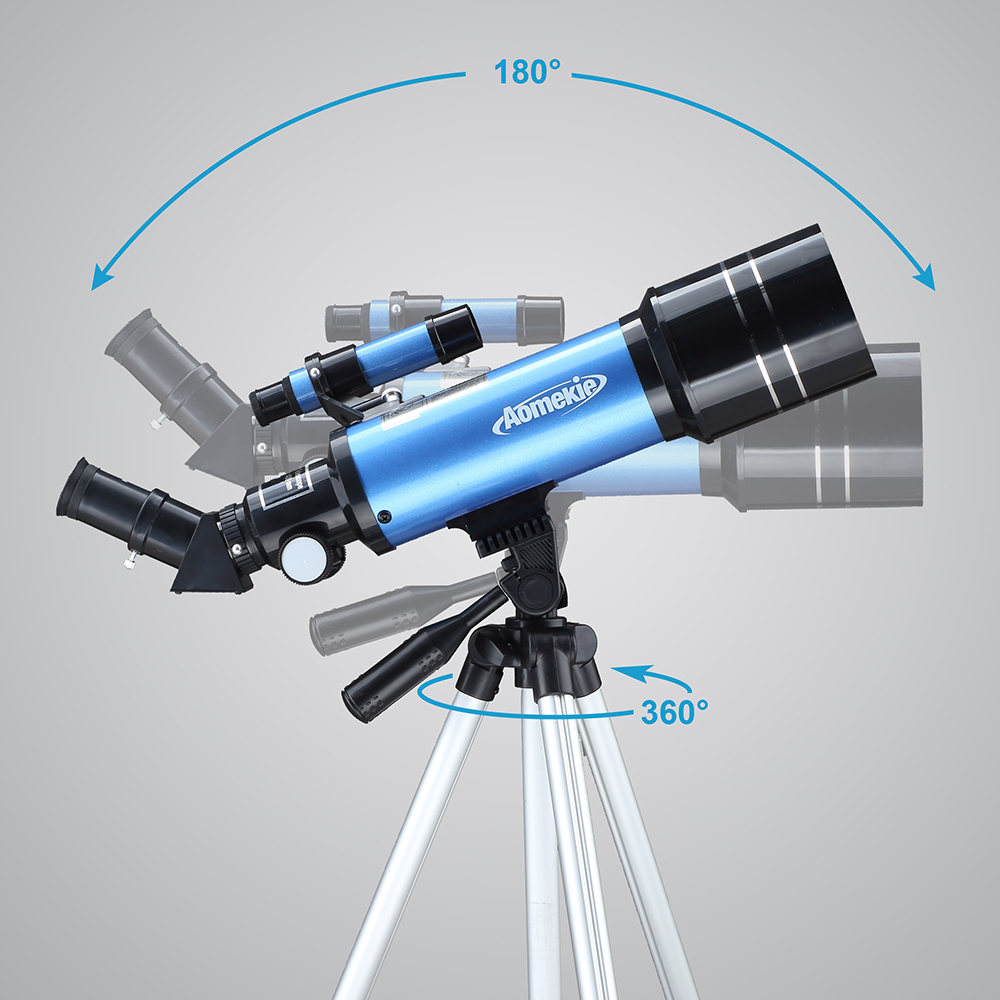 ajustável adaptador de telefone ereto-imagem lua assistindo espaço terrestre monocular