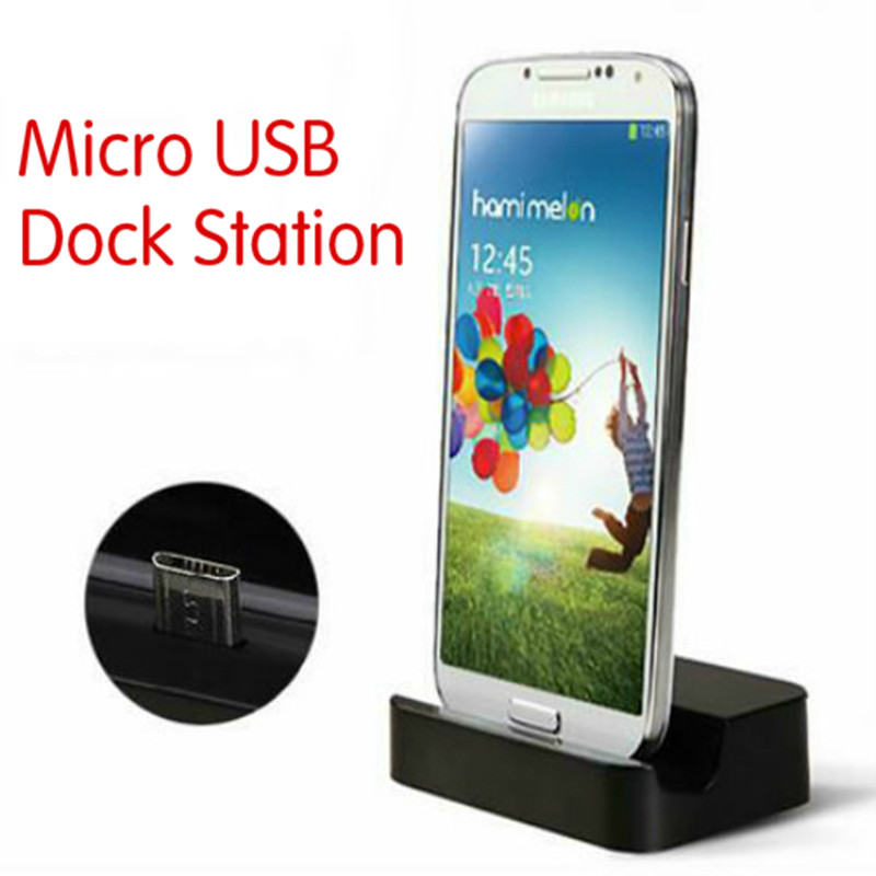 Micro USB Desktop Charging Dock Station Stand Charger For Samsung Galaxy J1 J2 J3 J5 J7 2016 + Charger Cable