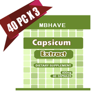 3 Bottles Capsicum Extract 400mg