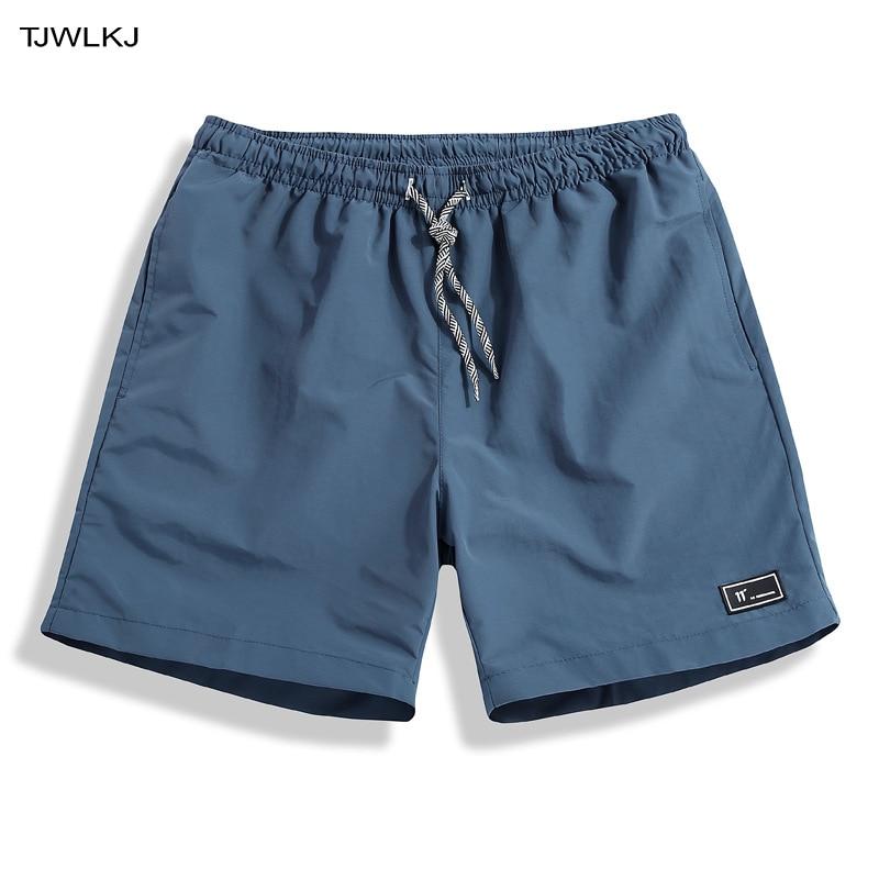 TJWLKJ Gym Fitness Men's Beach   Board     Shorts   Summer Bodybuilding Trunks Large Size Men's   Shorts   5xl Sport   Board     Shorts   Swimshorts