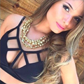 2016 Women Sexy Tank Top femme Work Out Fitness Clothes Women Sexy Black Strappy Bustier Crop Top Bra Top Short Fitness Clothing