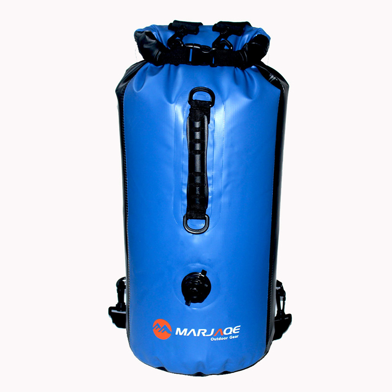 30L Inflatable Outdoor Waterproof Dry <font><b>Bag</b></font> Sack Storage <font><b>Bag</b></font> Rafting Sports Kayaking Canoeing Swimming <font><b>Bags</b></font> Travel Kits Backpack