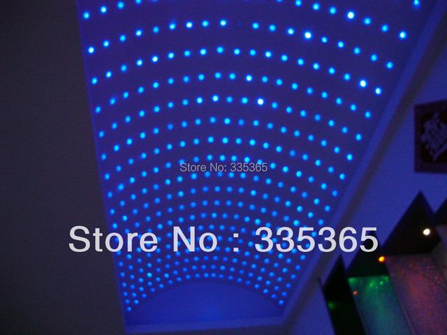 20pcs Waterproof 0.3w Decorate Rgb Led Bathroom Light / Led Ceiling Light  With 1pc Light