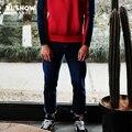 Viishow homens jeans slim fit calças jeans calças de brim dos homens calça casual para homens roupas de marca nc1140171
