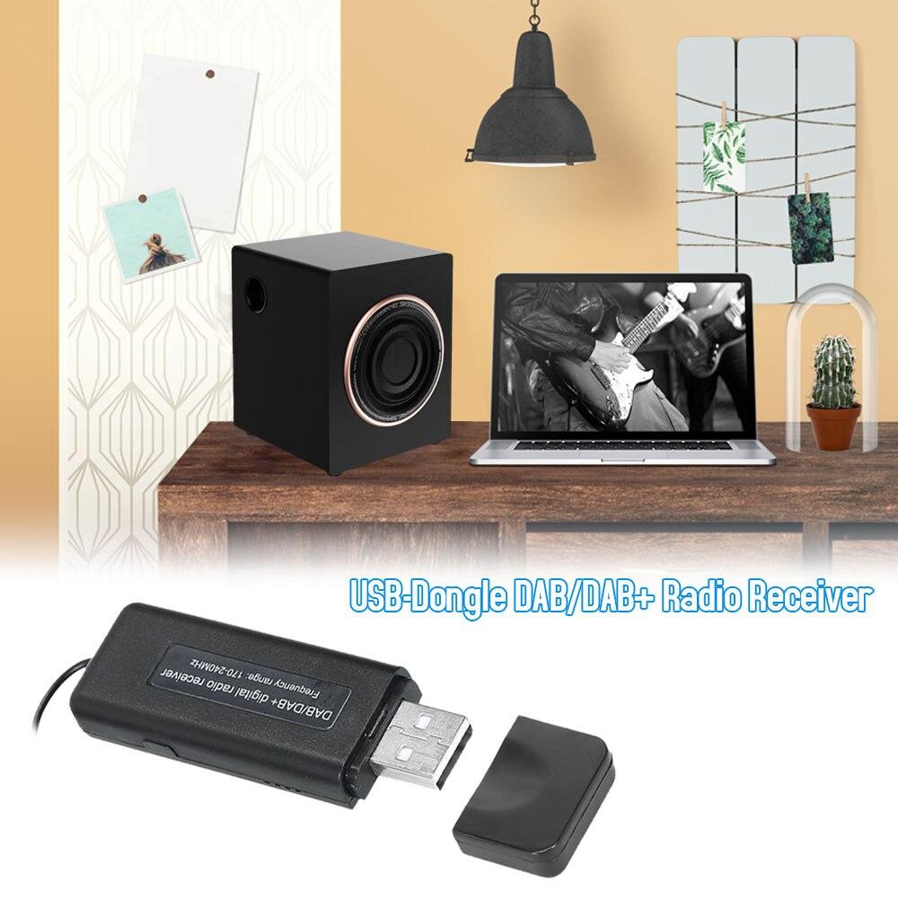 Car Styling USB-Dongle DAB/DAB+ Radio Receiver