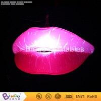 Бесплатная доставка День Святого Валентина надувные Mariage партии светодиодные шары надувные 1.2 м освещенные губы BG A0500 игрушка