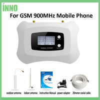LCD Display GSM Repeater 900MHz Cell Mobile Phone GSM 900 Signal Booster Amplifier
