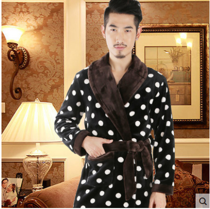 Men Style Sexy Bathrobe Mens Robes Men kimono Winter Robe Masculino Wedding Dressing Gown peignoir homme roupao saia masculina
