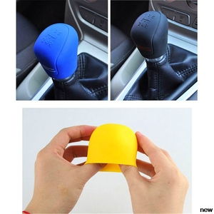 Car suv rubber Gear Shift Knob shifter Cover for Subaru Forester Ascent XV WRX VIZIV Outback Legacy Impreza Crosstrek
