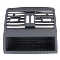 Car Rear Center Console Flow In Fresh Air Outlet Vent Grille Cover Air Conditioner Vent Protective for BMW 5 F10 F11 F18