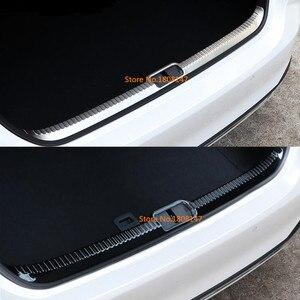 Для Lexus ES ES200 ES250 ES300 ES350 2018 2019 2020 Накладка заднего бампера для автомобиля накладка порог для багажника
