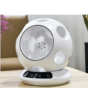 220VAC Office Leafless Fan Ultra-quiet Home Desktop Dormitory Remote Air Purification Soccer Shape New