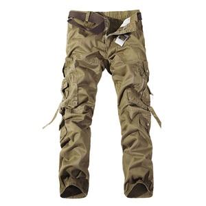 Image 1 - Top qualität männer military camo cargo hosen freizeit baumwolle hosen cmbat camouflage overalls 28 40 AYG69