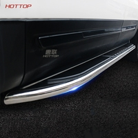 Car Aluminum Alloy Running Board Side Step Nerf Bar Pedal For Ford Explorer 2016 2017 2018