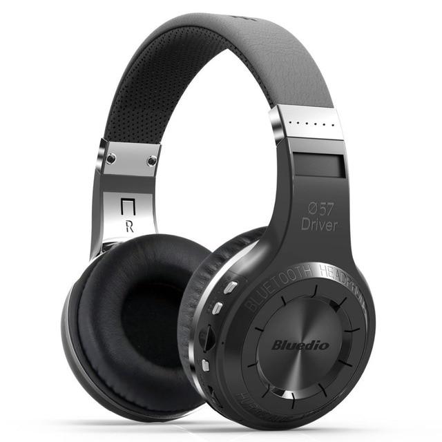 Оригинальный Bluedio H + Bluetooth стерео Беспроводной наушники с отличной низкой звуковой частотой музыки Mp3 плеер гарнитура с микрофоном FM BT4.1 наушники