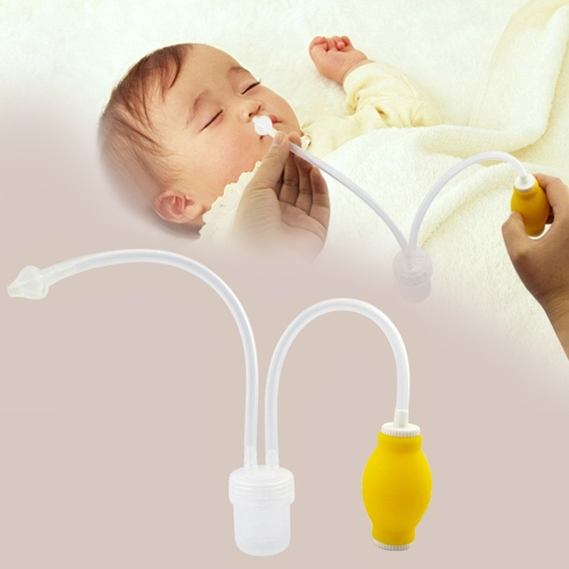 2016 Newborn Baby Safety Nasal Aspirator Vacuum Suction