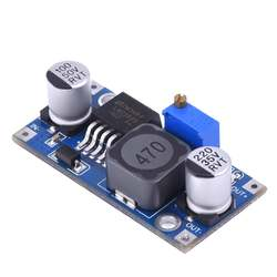 10 шт. DCDC Бак Сыходзь преобразователь модуль LM2596 Напряжение регулятор TE097 (синий)