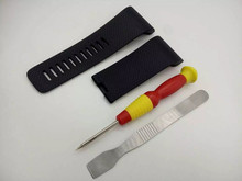 Repair DIY Fix For Fitbit Surge Heart Rate Smart Watch Silicone Watchstrap Wrist Bands Bracelet Replacement Band Anti allergy