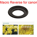 free shipping Aluminum 67mm Macro Reverse lens Adapter Ring for CANON camera EOS 67 EF Mount 5d 50d 60d 5d2 7d 70d 18-135mm lens