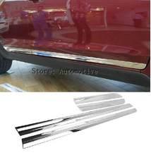 4 шт хромированные накладки на боковые двери корпуса из АБС