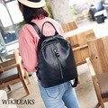 2016 Black Leather Backpack Designer Backpack Quality Laptop Backpacks For Teenager Girls Mini Back Pack Korean Women Bags DB199