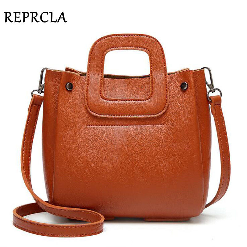 REPRCLA Luxury Women Leather Handbag Designer Small Shoulder Bag High Quality Crossbody Messenger Bags Female Hand Bag Bolsos