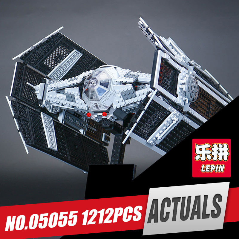 Lepin 05055 Star Series The Rogue model One USC Vader set TIE toy Advanced Fighter Set Building Blocks Bricks Children Toy 10175 2017 new 1242pcs 05055 lepin star wars vader s tie advanced fighter model building kit figures blocks brick toy compatible 10175