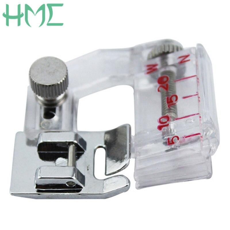 1pcs High Quality Adjustable Bias Tape Binding Presser