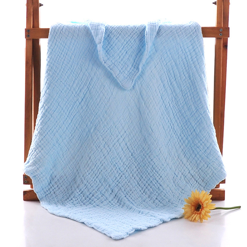 6 layers 110*110cm Cotton Baby Blanket Soft Newborn Infant Swaddle Wrap Winter Children Bedding Blanket Baby Bath Towel Wraps baby blanket bedding 110cm newborn muslin cotton swaddle wrap kids 6 layers thick receiving blanket gauze bath towel baby boys