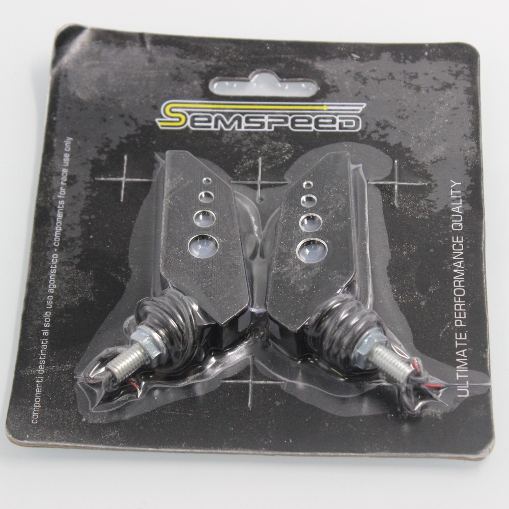 Universal Motorcycle Turn Signal Light Flexible 12v LED Turn Signals Indicators Blinkers Flashers for Honda GROM MSX125
