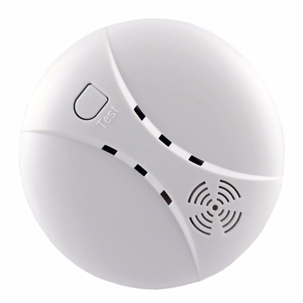 YoBang Security Touch Screen GSM Wireless Alarm System Smart Home Smoke Fire Alarm Detector 433MHZ RFID Android IOS APP Controls - 5