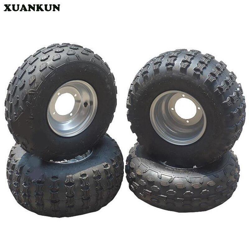 XUANKUN Four Karting Motorcycle ATV 19X7-8 18X9.5-8 Inch Tire Wheel Set цены онлайн
