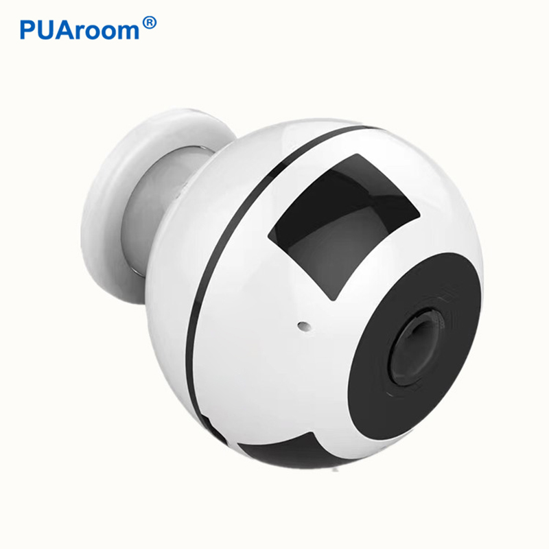 PUAroom 960P 360 degree fisheye lens hidden camera motion detection wifi ip camera home security surveillance|Surveillance Cameras| |  - title=