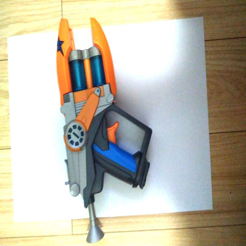Nouveau dessin animé grande taille Anime Slugterra jouer tir pistolet jouet garçon jouet pistolet pistolet cadeau
