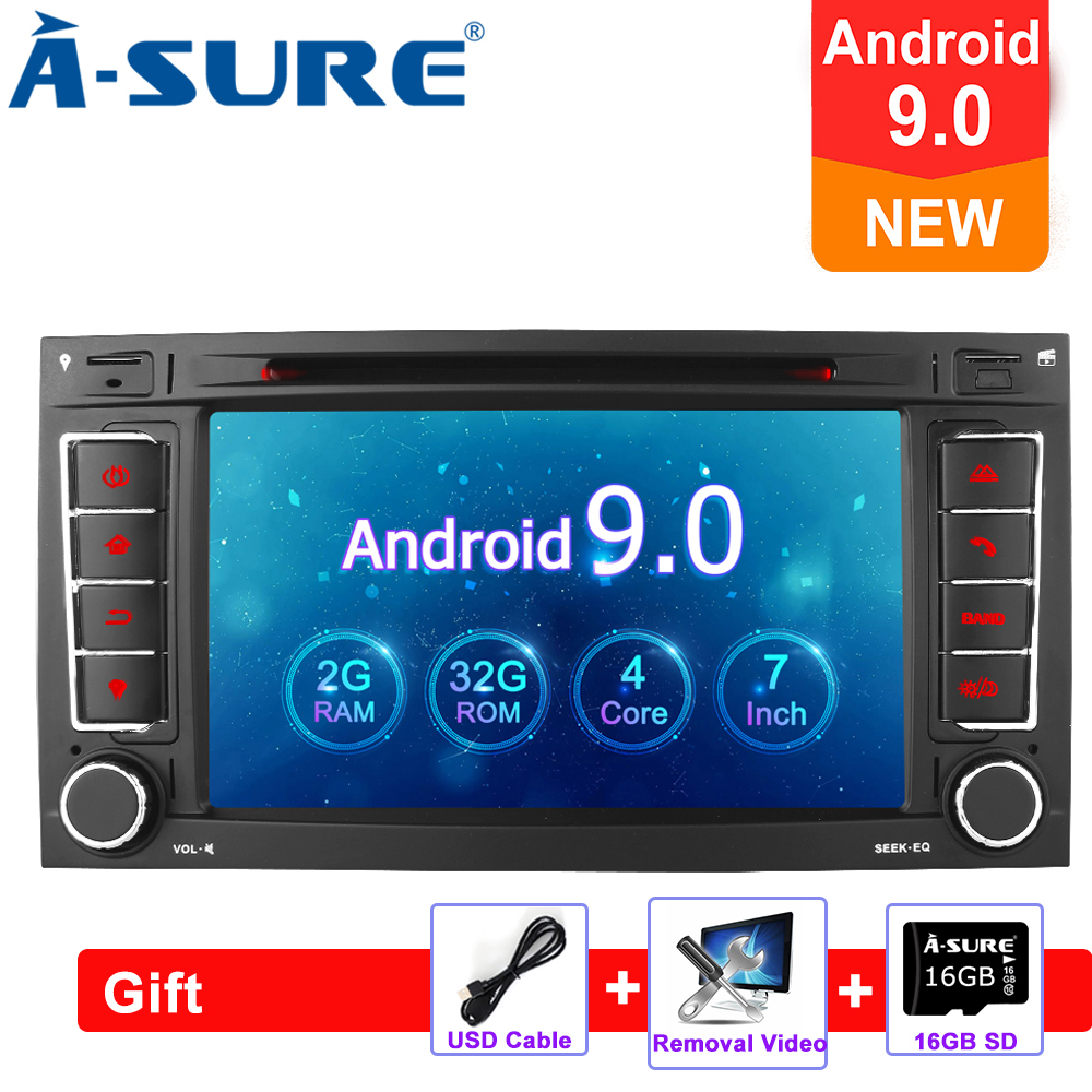 Aliexpress com : Buy A Sure 7 Inch 2 Din Android 9 0 Car Radio GPS