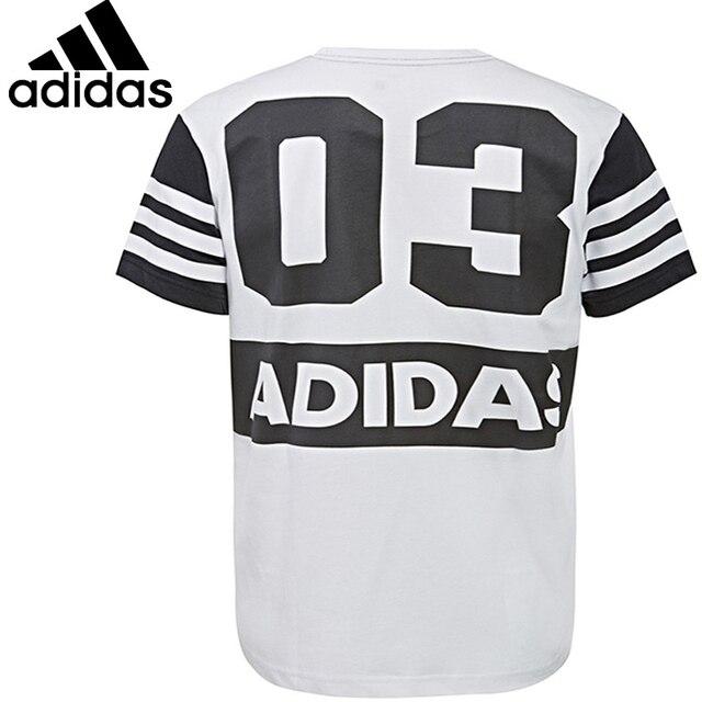 Adidas Originale Nuovo Arrivo Respirabile Uomo T - Shirt Respirabile Arrivo Quick - Dry Cotone 0d5589