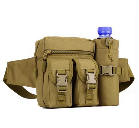 Militär Tactical Skidåkning Outdoor Bag Kettle Bröst Pack Män Axelväska Multifunktionell Molle Women Messenger Bag