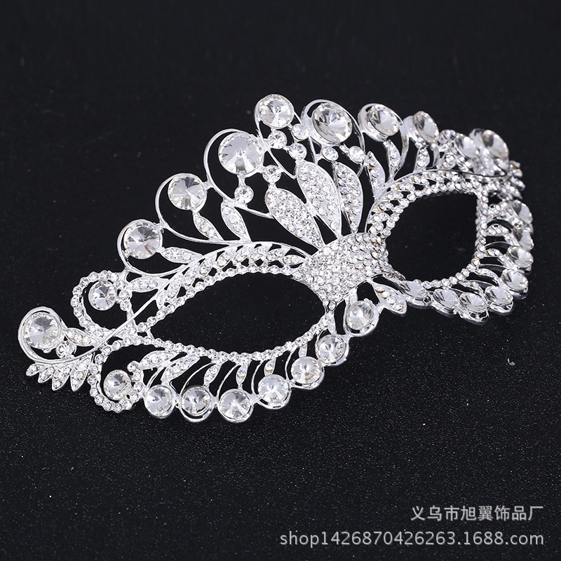 Silver Grey Masquerade Mask Lace New Year Halloween Masked Balls Party Weddings