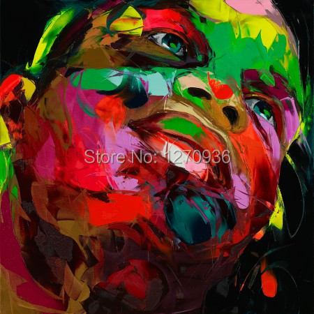 Professional Artist Hand Painted Modern Cool Man Abstract Portrait Oil Painting On Canvas Abstract Face Art Painting for DecorProfessional Artist Hand Painted Modern Cool Man Abstract Portrait Oil Painting On Canvas Abstract Face Art Painting for Decor